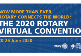 Rotary Convention ONLINE 20. - 26. juni