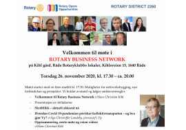 Nytt møte i rotary business network